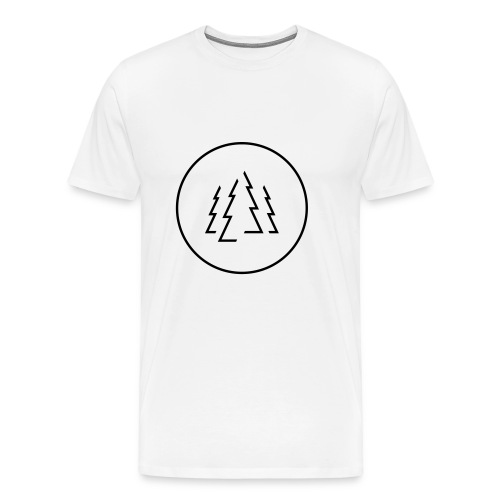 Schwarzwaldfilm im Kreis - Männer Premium T-Shirt