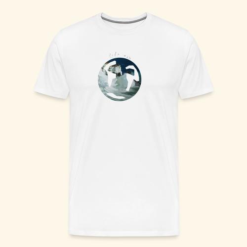 Logo mondo amalfi - Maglietta Premium da uomo