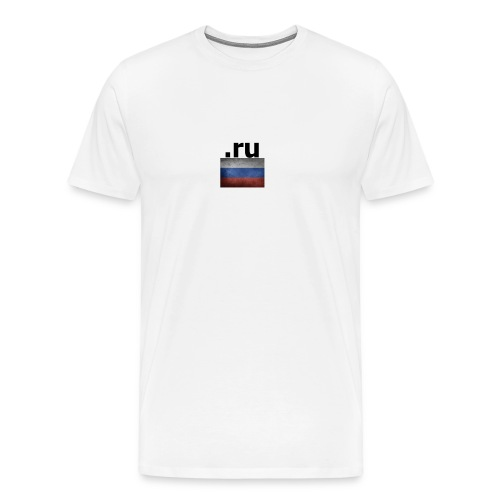 .ru Russland-Fahnen Trikot - Männer Premium T-Shirt
