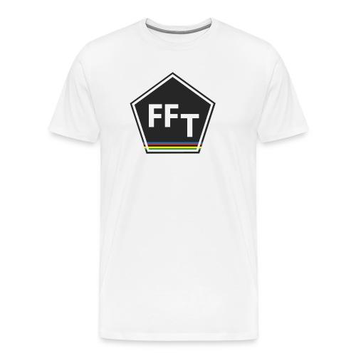 FFT logo colour (Fastfitnesstips) - Men's Premium T-Shirt