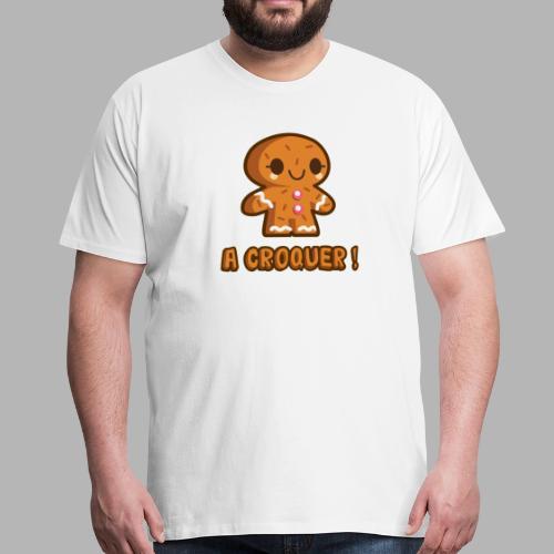 Biscuit - T-shirt Premium Homme