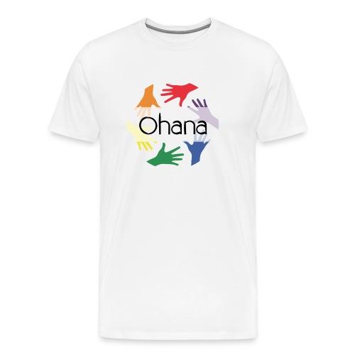 Ohana heißt Familie - Männer Premium T-Shirt