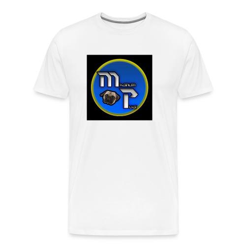 MagnumPug channel - Men's Premium T-Shirt