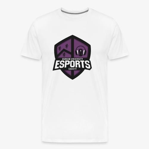 DUES Logo (V2.0) - Men's Premium T-Shirt