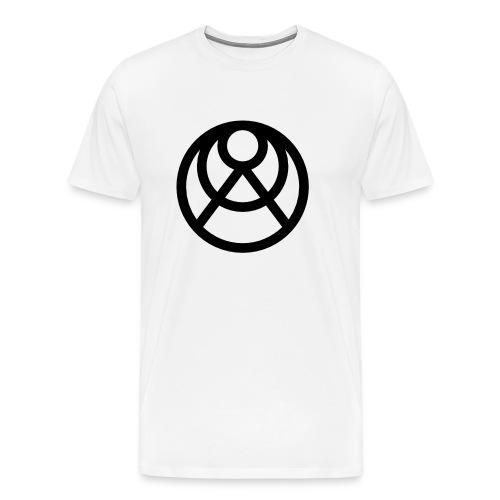 Faråkra Hantverksbryggeri Symbol - Premium-T-shirt herr