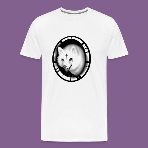 Krist White Wolf - Camiseta premium hombre