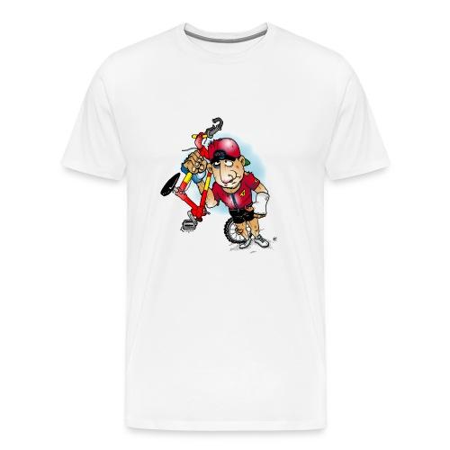 BoarderMax Bike Crash - Männer Premium T-Shirt