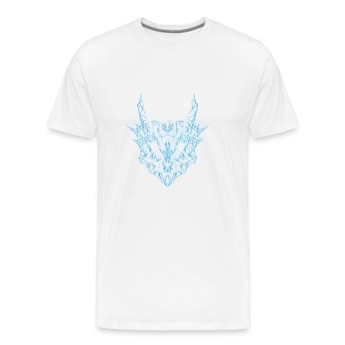 Monster Hunter - Poly-Lagiacrus - Men's Premium T-Shirt