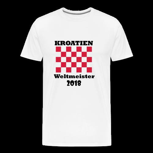 Kroatien Fanshirt - Männer Premium T-Shirt