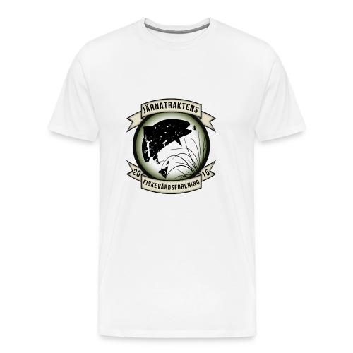 Järnatraktens Fiskevårdsförening - Premium-T-shirt herr