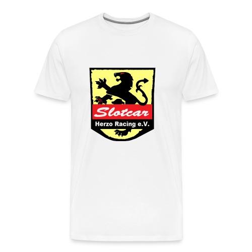 HR Logo Schwarz (für alle Hintergründe) - Männer Premium T-Shirt