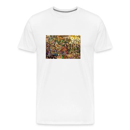 Muro_de_firmas-jpg - Camiseta premium hombre