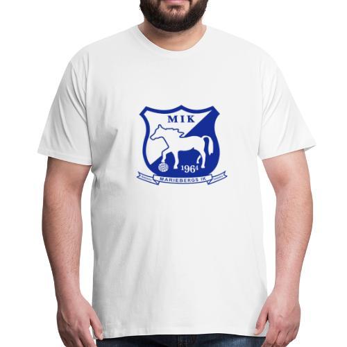 MIK - stor logo - Premium-T-shirt herr