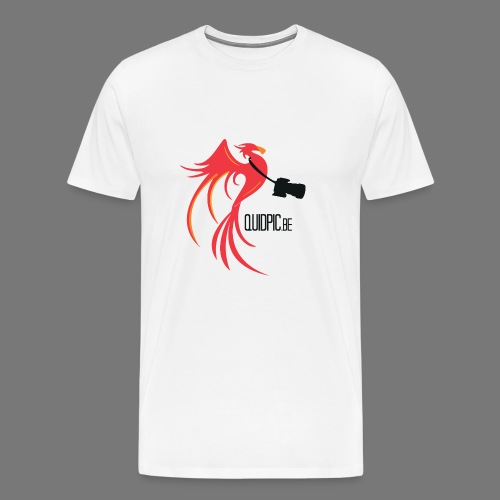 T-Shirt Men White (Front) - Men's Premium T-Shirt
