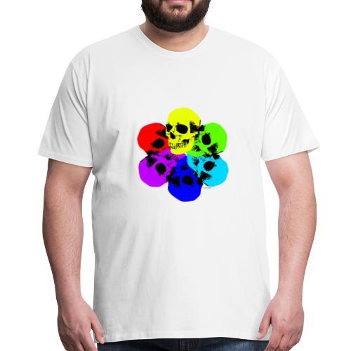 Skull Spectrum - Men's Premium T-Shirt