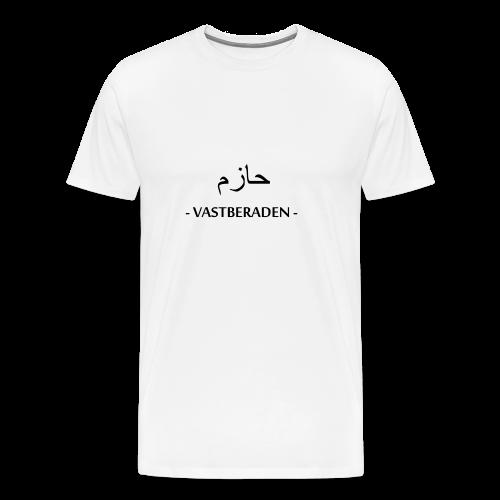 Vastberaden Men - Mannen Premium T-shirt