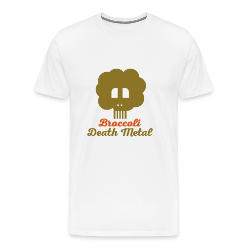 broccoli_death_metal_-10--ai - Männer Premium T-Shirt