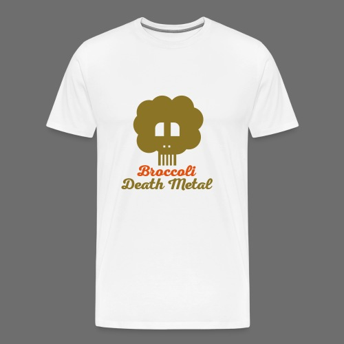 broccoli_death_metal_-10--ai - Männer Premium T-Shirt