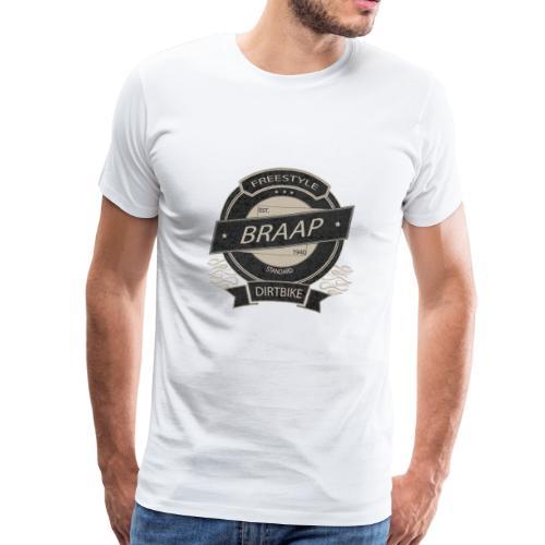 BRAAAP Design - Männer Premium T-Shirt