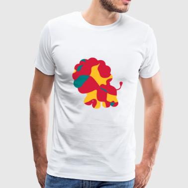 LION MIGNON - CAMO / CAMO - T-shirt Premium Homme