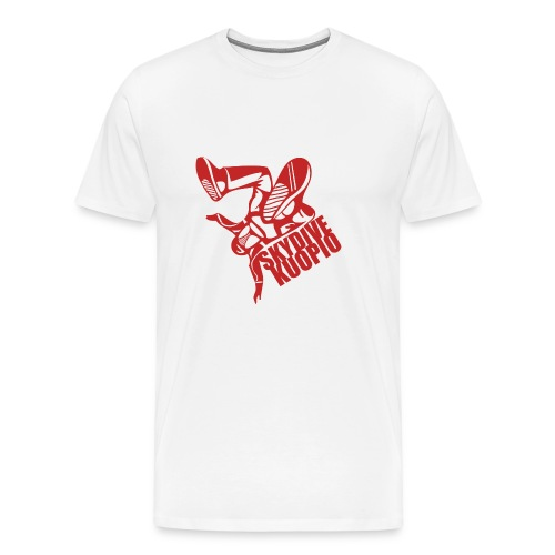 KLU logo red - Miesten premium t-paita