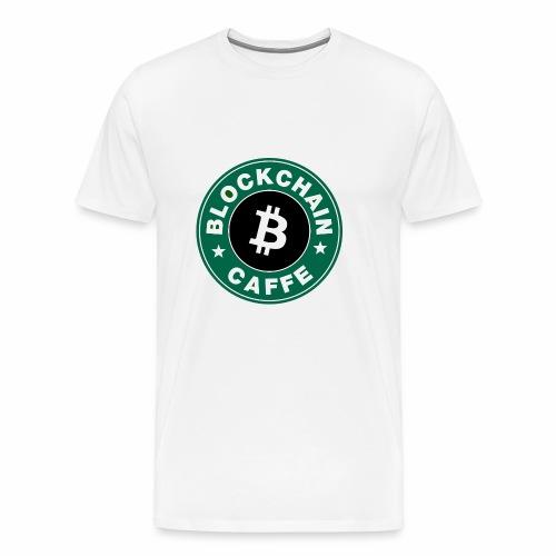 BlockChain Caffè Logo - Maglietta Premium da uomo
