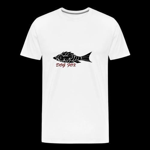 Dogfox Fisch - Männer Premium T-Shirt