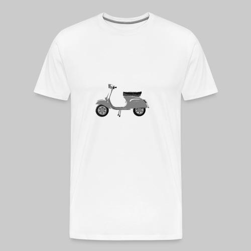 Classic scooter greys - Men's Premium T-Shirt