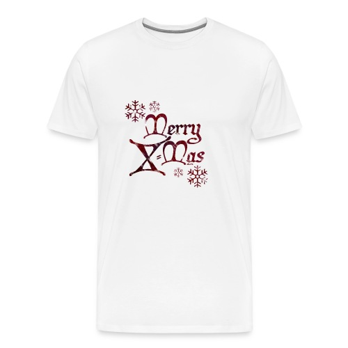 MerryX Mas - shuttledesign - Männer Premium T-Shirt