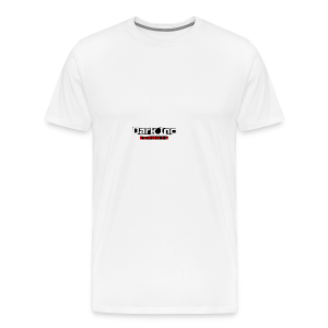 Dark Inc Text - Herre premium T-shirt