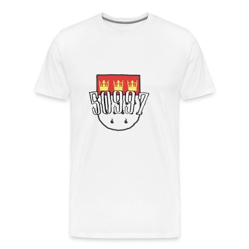Köln Veedel 50997 - Männer Premium T-Shirt
