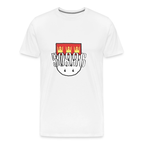 Köln Veedel 50996 - Männer Premium T-Shirt