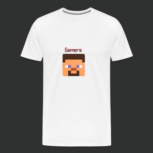 Steve gamer merch - Men's Premium T-Shirt