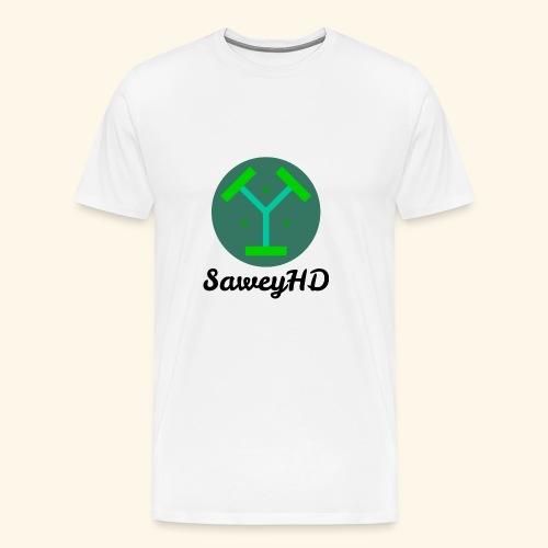 SaweyHD Weiß - Männer Premium T-Shirt