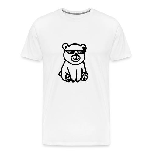 Rhyme Bear - Männer Premium T-Shirt