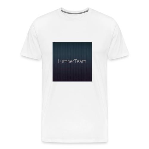 CZAPKA Z DASZKIEM - Koszulka męska Premium