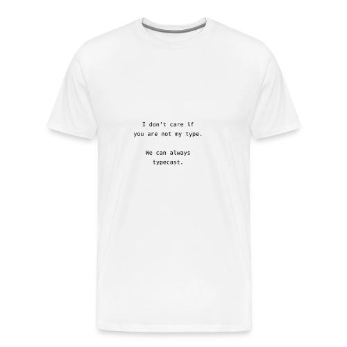 Typecast Romantic - Männer Premium T-Shirt