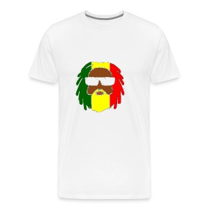 AFROJAZZ RED-GOLD-GREEN - T-shirt Premium Homme