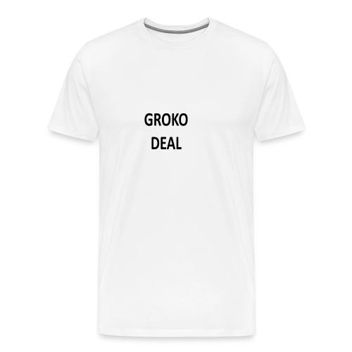 GROKODEAL, Politik, Deutchland, Geschenk, Lustig, - Männer Premium T-Shirt