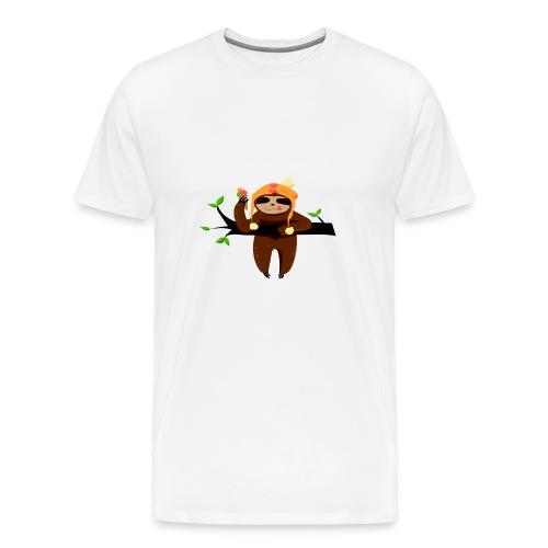 FaultierEis - Männer Premium T-Shirt
