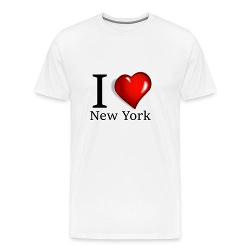 New York Love - Männer Premium T-Shirt