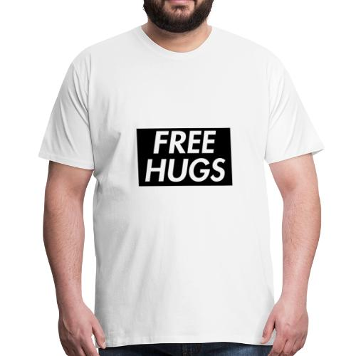 Free Hugs | Cool Design - Männer Premium T-Shirt