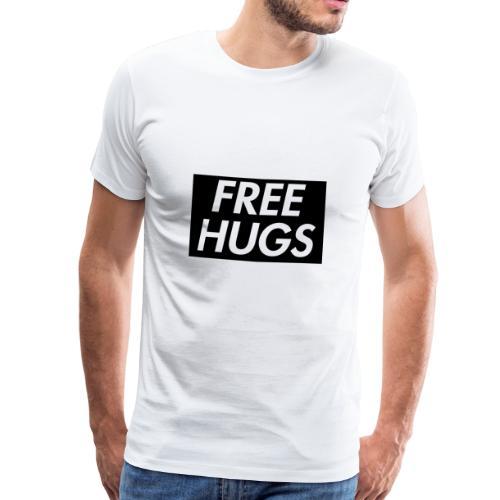 Free Hugs | Cool Design - Männer Premium T-Shirt