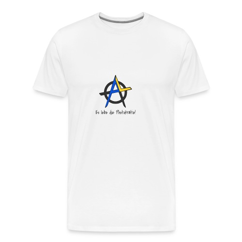 Es lebe die Photokratie! Unabhängig mit Solarstrom - Männer Premium T-Shirt