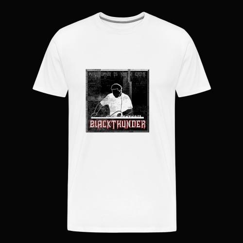 BlackThunder (Hardtechno) Logo - Männer Premium T-Shirt