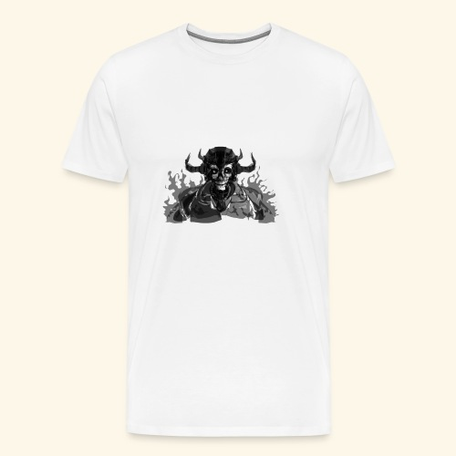 Skull Totenkopf Tees Shirt Hoddie - Männer Premium T-Shirt