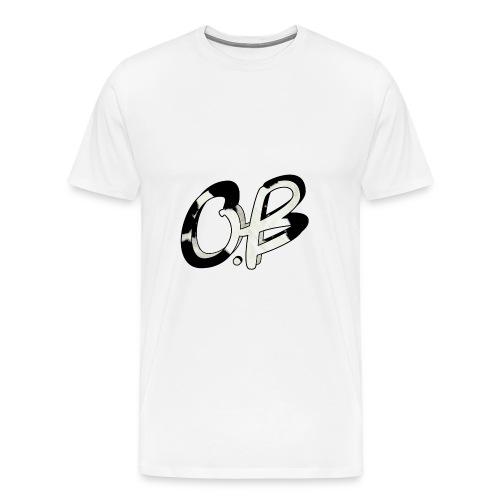 O.B - Premium T-skjorte for menn