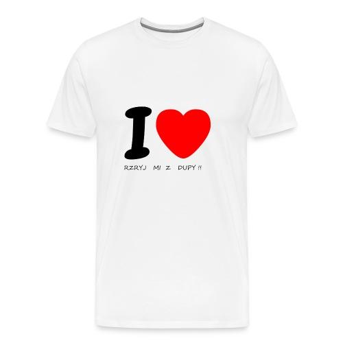 Bluzka męska - Koszulka męska Premium