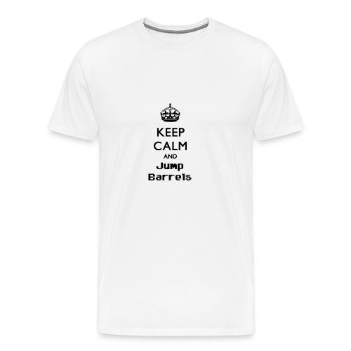 Jump Barrels - Camiseta premium hombre