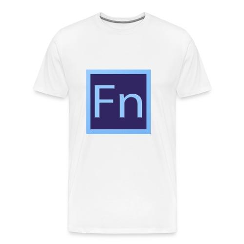 Cover galaxy s6 logo FaLsoNoMe - Maglietta Premium da uomo